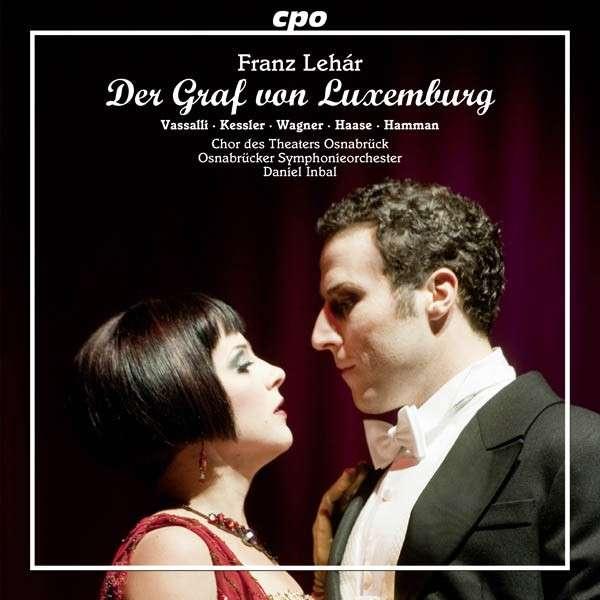 CD-Cover Graf von Luxemburg